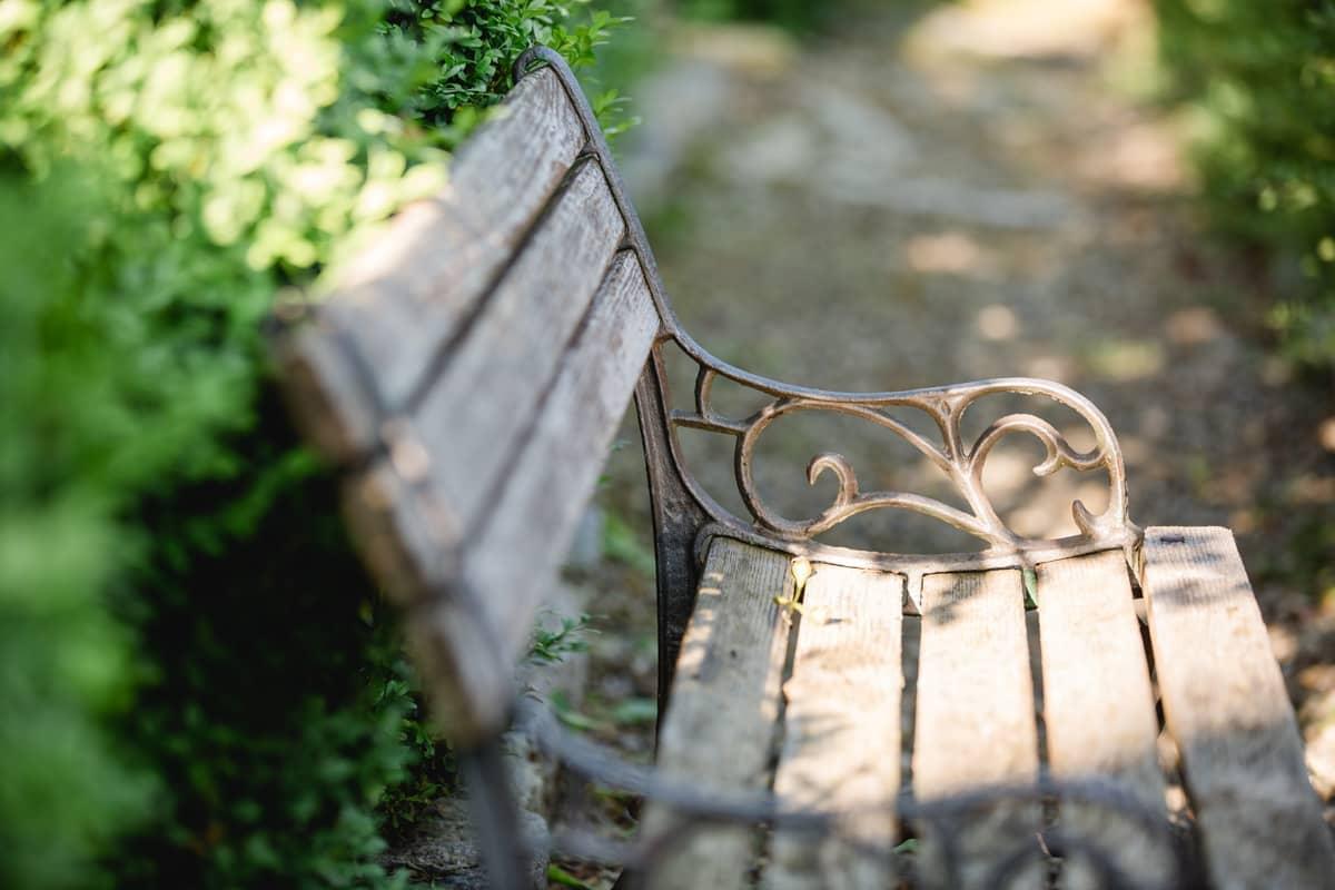 Genießen Sie die Ruhe des Gartens bei meinem Coaching